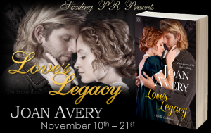 LLJA Banner  Love's Legacy by Joan Avery