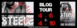 Blog Tour Banner (2) Steele into your heart by Rie Warren